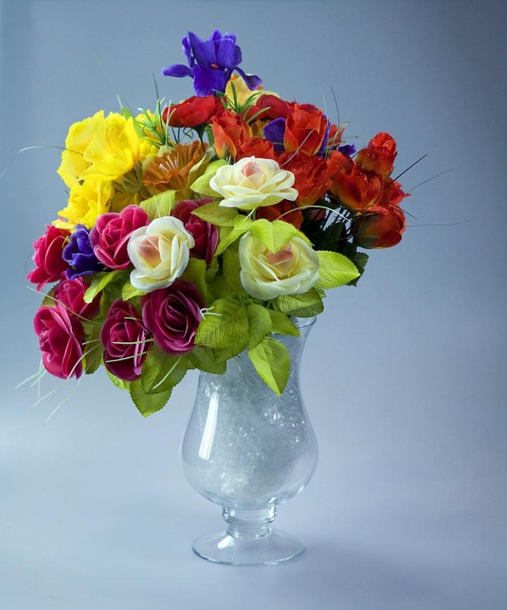 Fiori in vaso di vagero