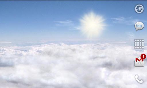 Blue Skies Live Wallpaper  screenshot 3