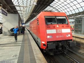 Photo: 101 111-3 (DB), IC Aachen Hbf - Berlin Gesundbrunnen {Berlin Spandau; 2015-09-25}
