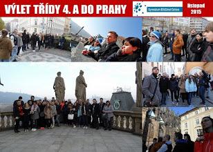 Photo: Výlet třídy 4. A do Prahy (středa 6. - pátek 8. listopad 2015).