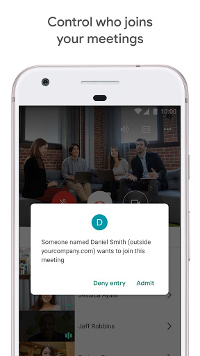Google Meet - Secure Video Meetings 44.5.324814572 Screenshots 2