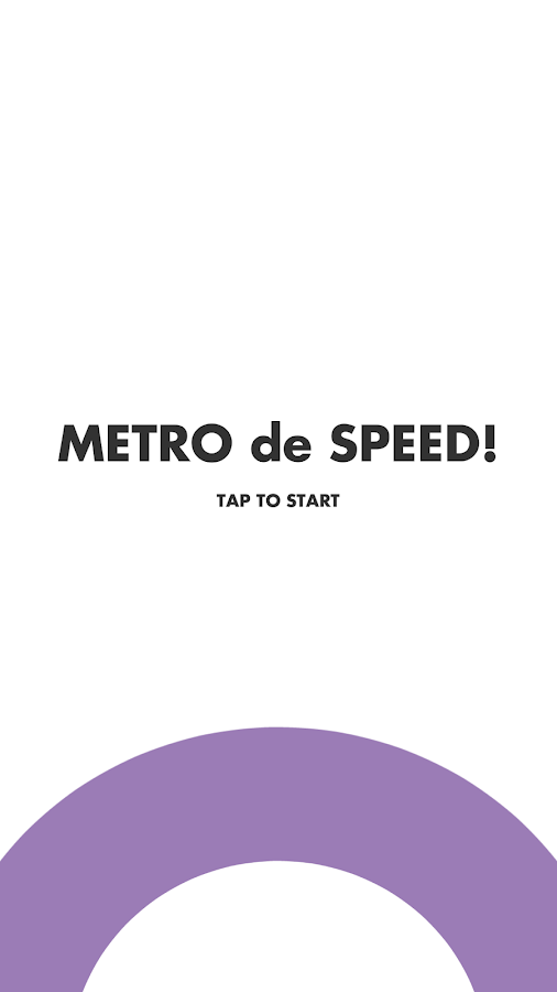 METRO de SPEED!- screenshot