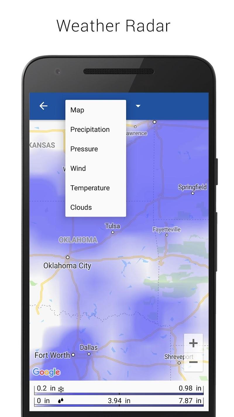 Digital clock & world weather Screenshot 4