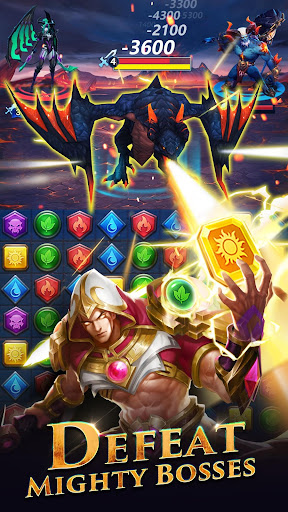 Télécharger Gratuit War and Wit: Heroes Match 3 APK MOD (Astuce) screenshots 4