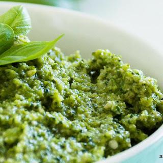 Low-Carb Broccoli Pesto Sauce.