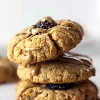 Blackberry Almond Thumbprint Cookies (Paleo, Gluten Free, Vegan) Recipe