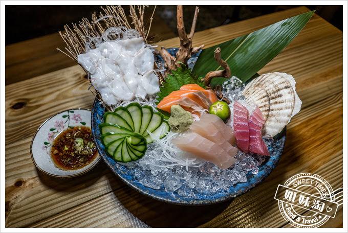 豐日式居酒屋綜合生魚片
