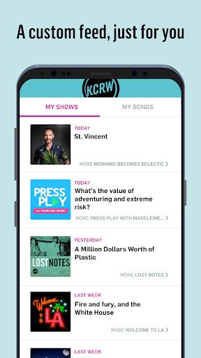 KCRW 4.0.3 screenshots 4