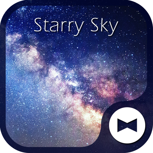 Galaxy Wallpaper Starry Sky HD Icon