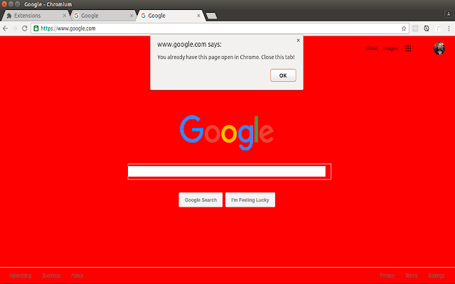 Two Tabs Open