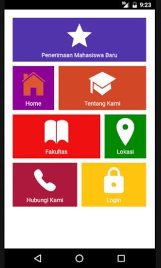 Budi Luhur Student Mobile App