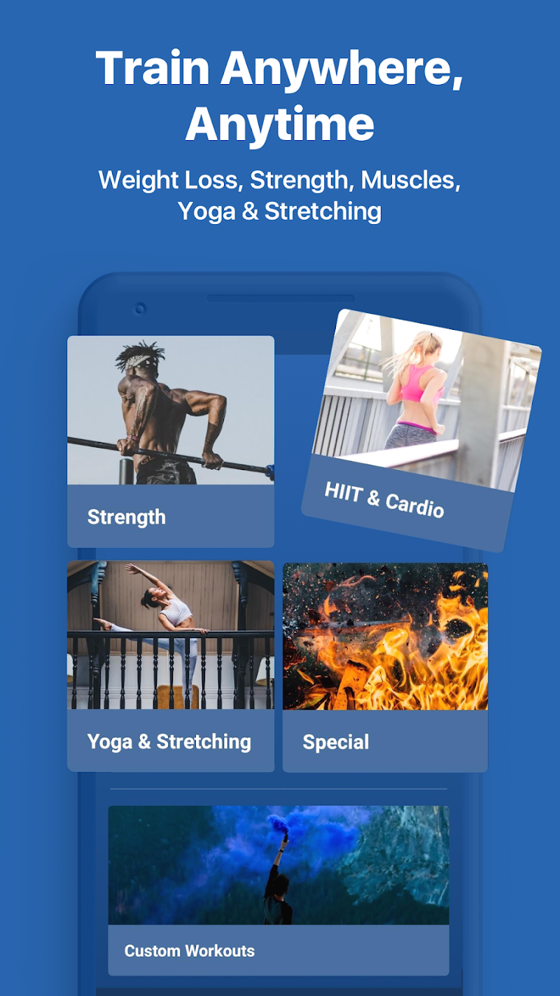 Fitify: Training, Workout Plan & Results App Screenshot 2