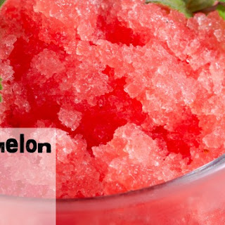 Easy Watermelon Slushy