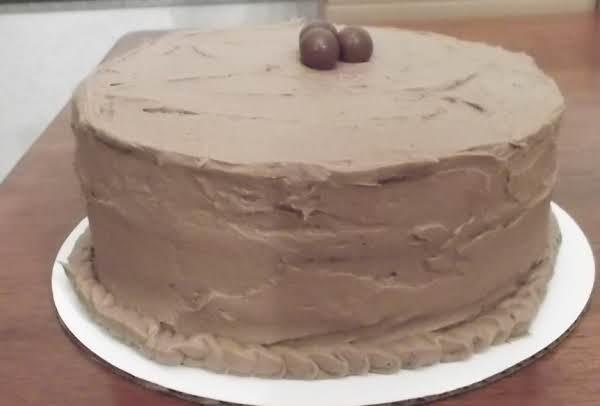Triple Chocolate Cake&chocolate Fudge Buttercream Recipe