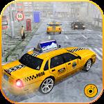 Taxi Driver 3D : Snow Mania Icon