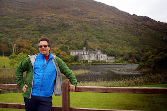 Photo: Kylemore Abbey (formerly Kylemore Castle, Doug is very excited)