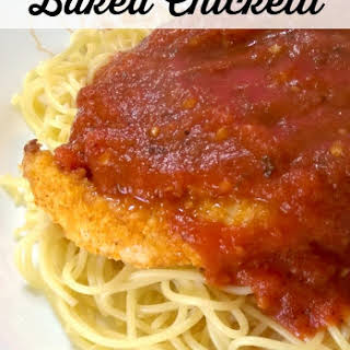 Baked Chicketti.