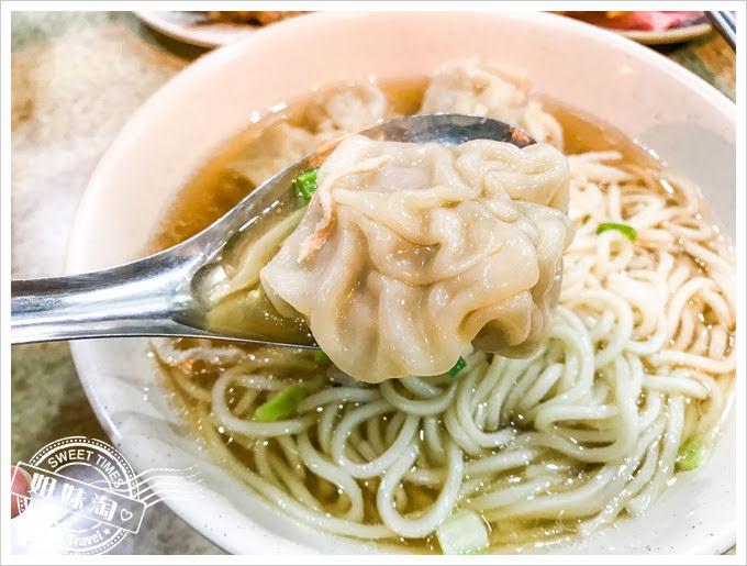 黑乾溫州餛飩大王鮮肉餛飩湯麵