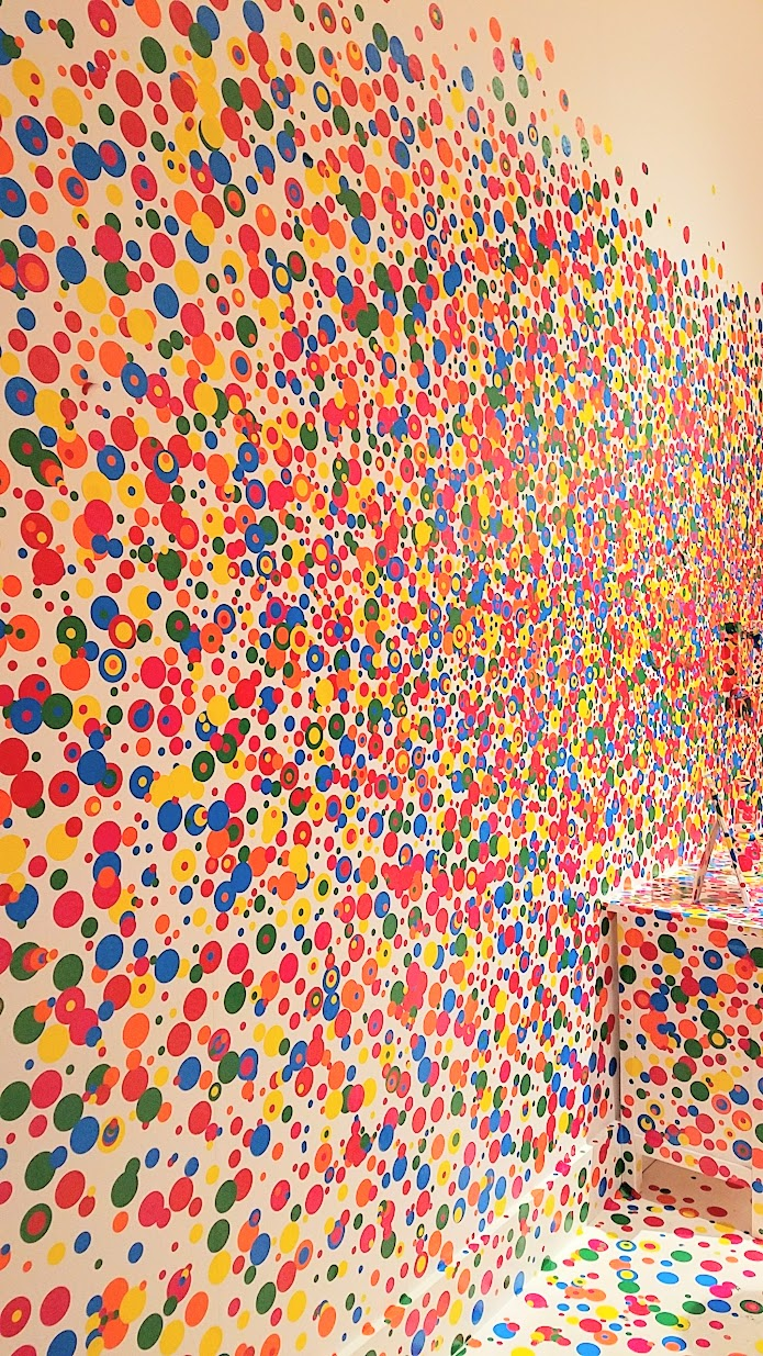 Yayoi Kusuma Infinity Mirrors at the Seattle Art Museum, The Obliteration Room