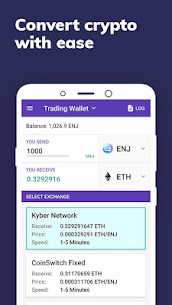 Enjin: Bitcoin, Ethereum, Blockchain Crypto Wallet App Latest Version Download For Android and iPhone 4