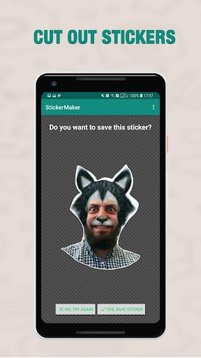 Sticker maker