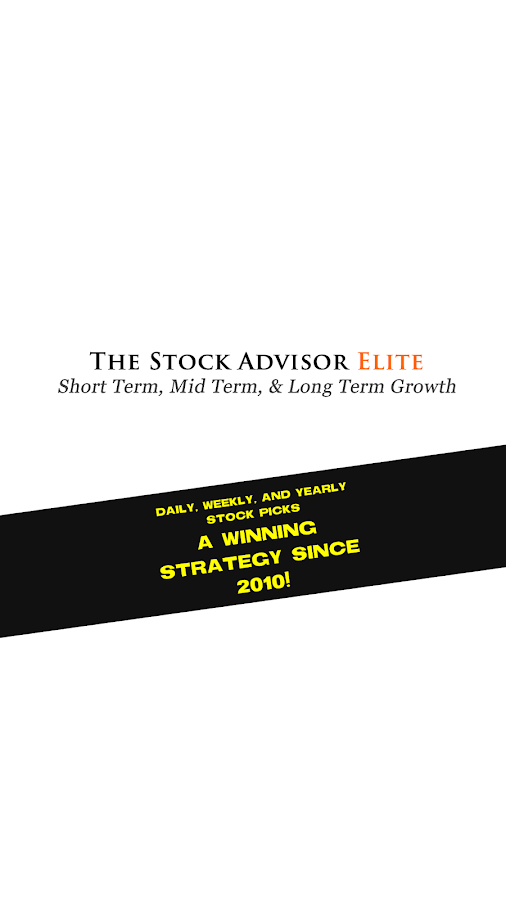 The Stock Advisor Elite 9- screenshot