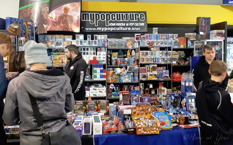 My Pop Culture's booth at Armageddon