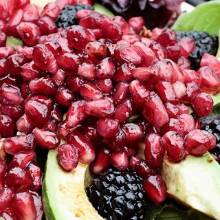 Pomegranate and Avocado Salad