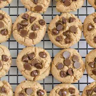 Healthy Peanut Butter Chocolate Chip Cookies Recipe