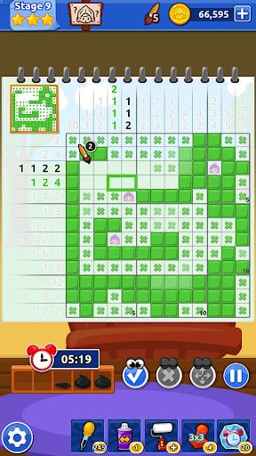 The Magic Brush - Picture Cross & Nonogram Puzzle screenshots 3