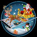Merry Christmas Santa theme icon