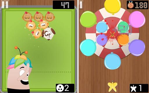 子供のためのミニゲームをスポーツ