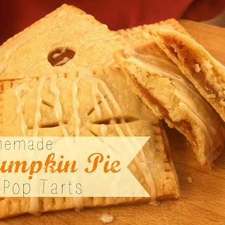 Homemade Pumpkin Pie Pop Tarts.