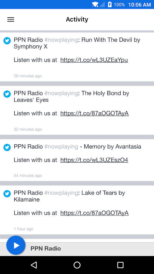 PPN Radio- screenshot