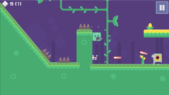 Super Green Boy - 2d platformer- screenshot thumbnail