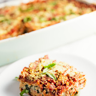 Lasagna Without Cheese Recipes.
