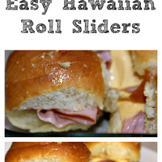 Easy Hawaiian Roll Sliders!! Recipe