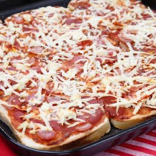 Hearty Bread Pizza.
