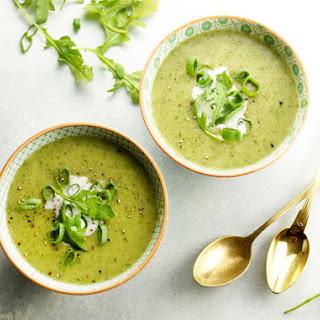 Creamy Vegan Arugula Soup Recipe