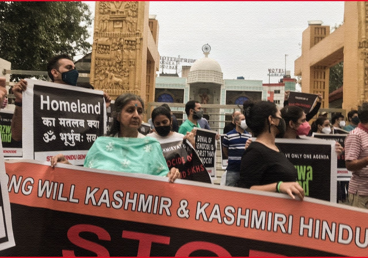 Kashmiri Pandits Protest Killings in Kashmir, Allege Terror 'Plan to Prevent Return'.