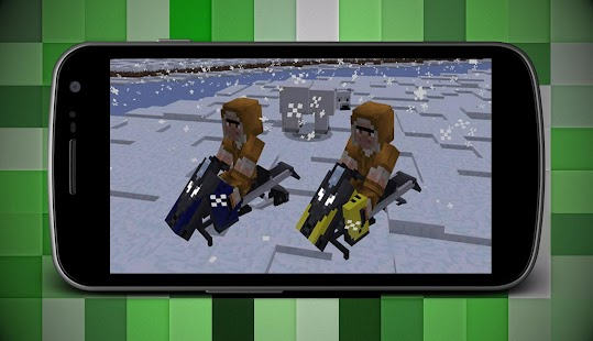 Dirt Bikes Addon for Minecraft PE - náhled
