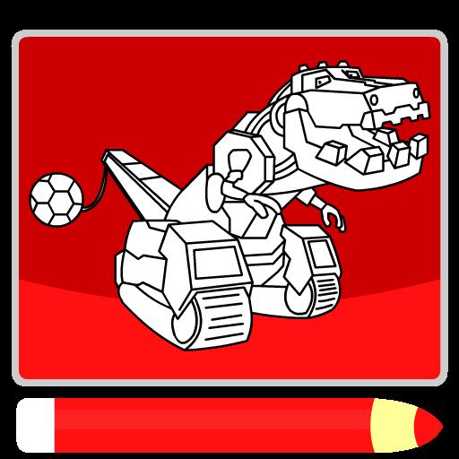 Dino Robot Makine Boyama Oyunu Google Playde Uygulamalar