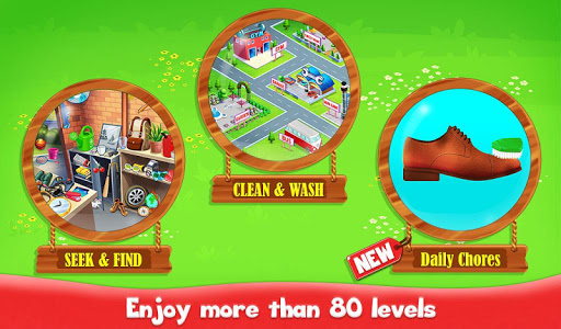 Big Home Cleanup and Wash : House Cleaning Game screenshots 1