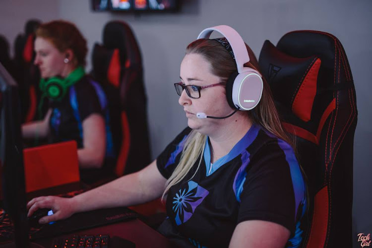 "Ashley ""BrinkeR"" Groves is part of the White Rabbit Amaryllis team that is participating in the Valkyrie Challenge, an all-female Counter-Strike: Global Offensive (CS:GO) tournament."