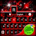 红色的键盘 icon
