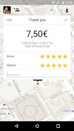 mytaxi – The Taxi App Screenshot 4