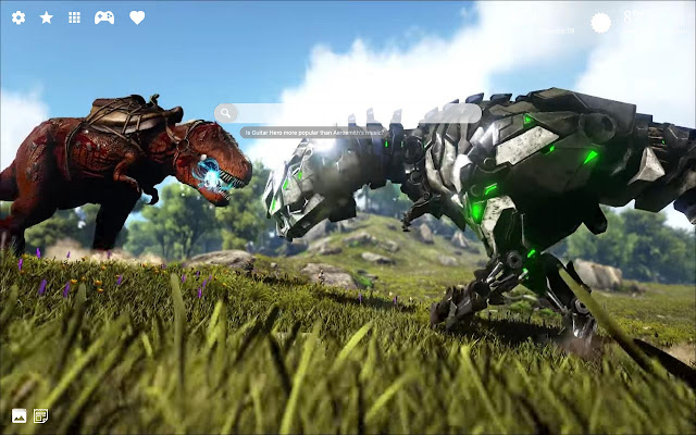 The Ark Survival Evolved Hd Wallpaper Theme