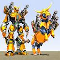 Bull Robot Car Transform Game icon