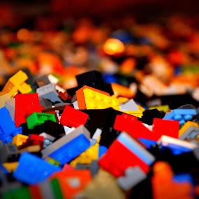Legos by Jignashu Parikh - Artistic Objects Toys ( toys, mess, legoland, blocks, lego )