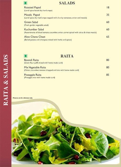 Pind Balluchi menu 14
